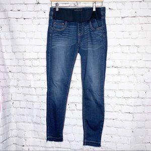 df2386caace28 [Prosperity] Maternity Skinny Jeans W/ Demi Panel